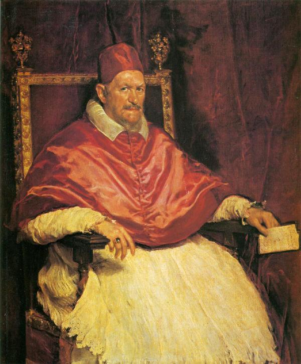 ディエゴ・ベラスケス「教皇イノケンティウス十世 」 ディエゴ・ベラスケス「教皇イノケンティウス十