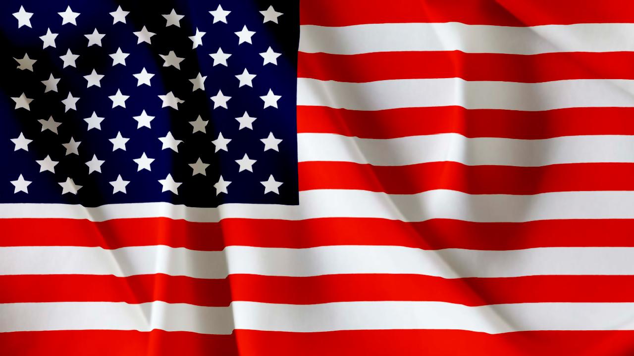 アメリカ国旗 - 画像素材-