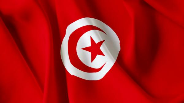 Republic of Tunisia national flag