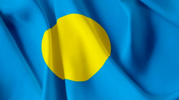 Palauan national flag