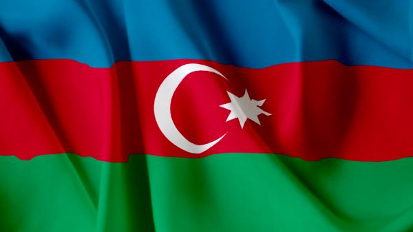 Azerbaijani national flag