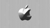 [Apple logo 002]Picture material download