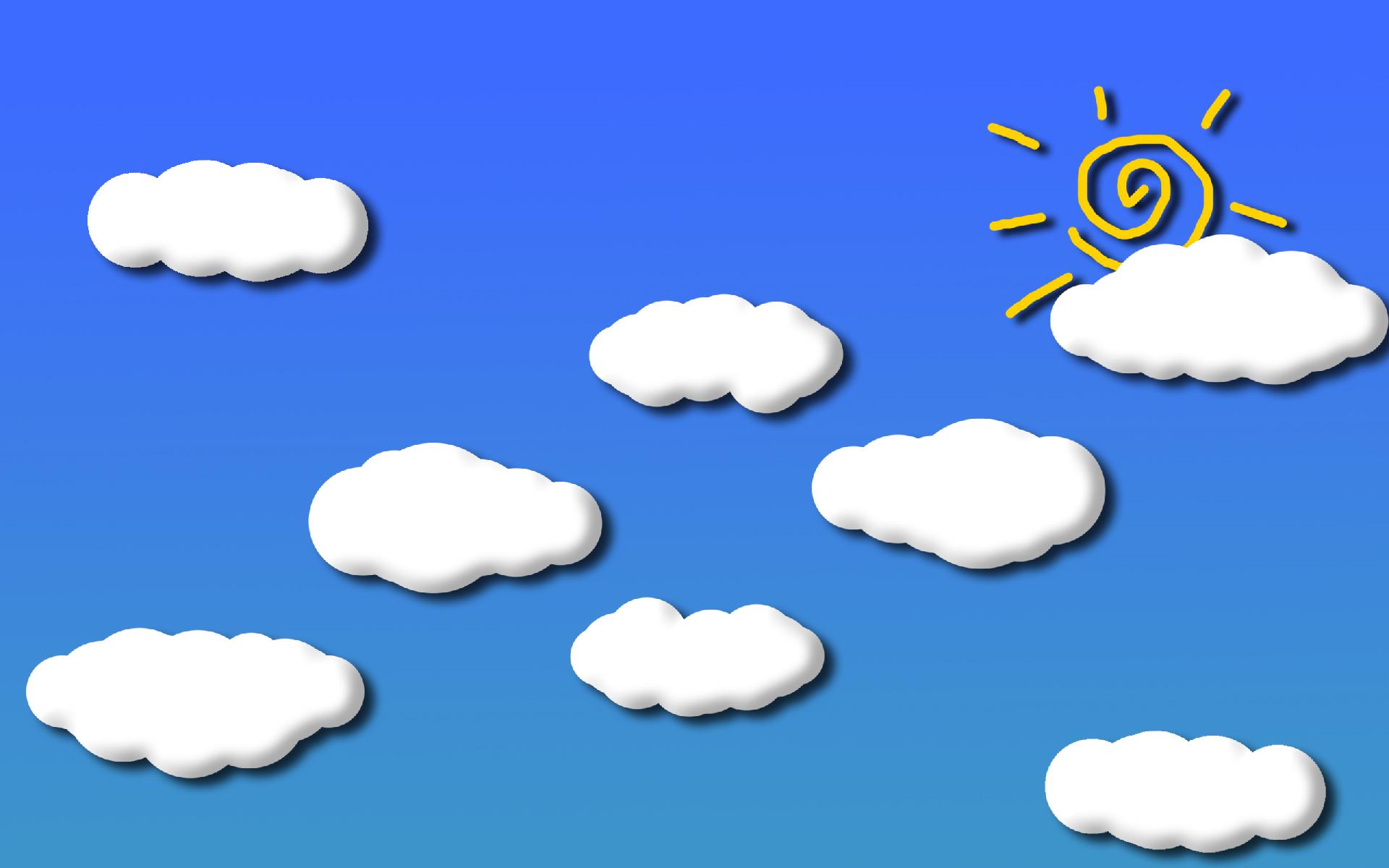 雲と太陽のイラスト 雲と太陽のイラスト - 画像素材|ジーソザイ 雲と太陽のイラストの画像素材を
