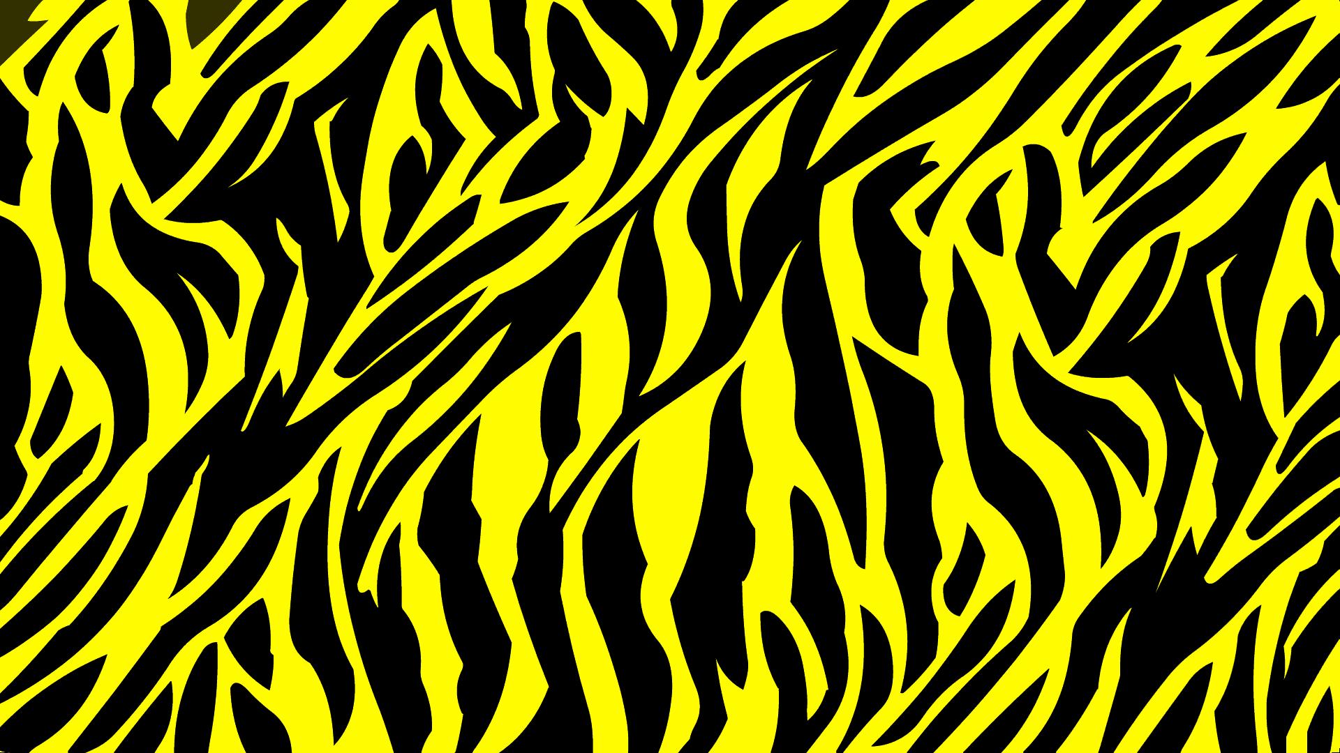 ゼブラ柄 黄黒の画像 ジーソザイ