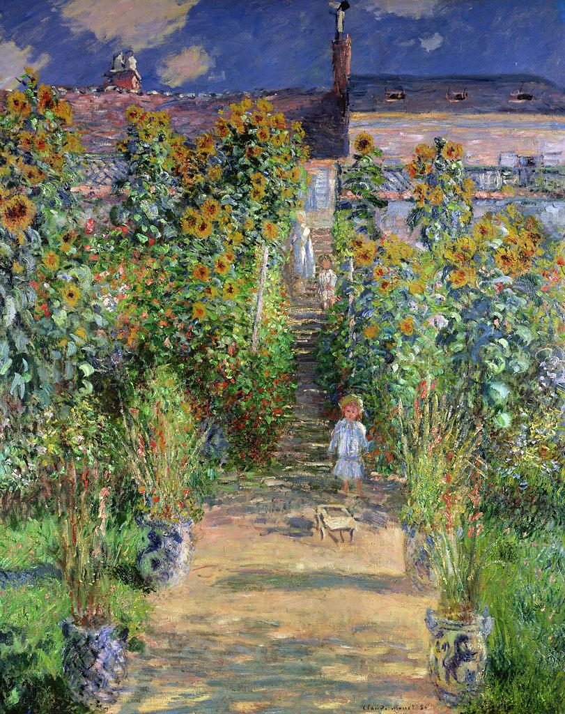 クロード モネ ヴェトゥイユの画家の庭 の画像 ジーソザイ