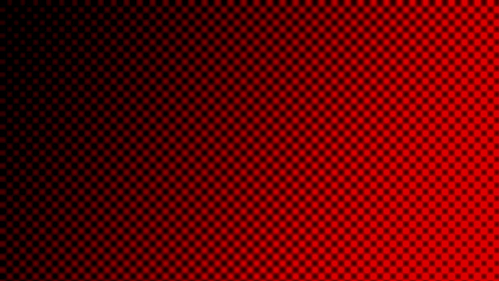 ハーフトーンパターン-赤
